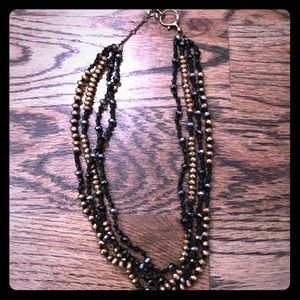Fossil beaded necklace